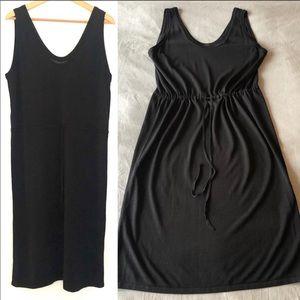 COS Knit Tie-Waist Tank Dress